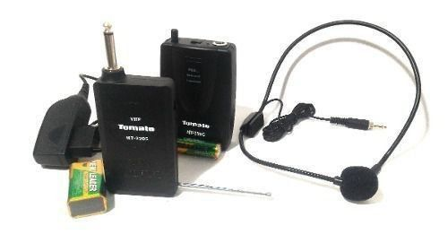 Microfone Headset Tomate Mt-2205 Sem Fio - Completo
