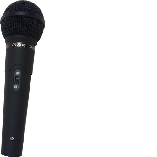 Microfone Leson MC200 Preto Fosco
