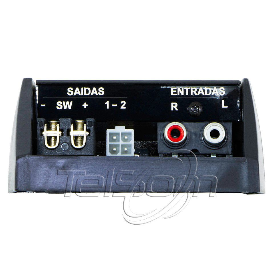 Módulo Amplificador Corzus Z500 2 Ohms 3 Canais 500 Rms Rca
