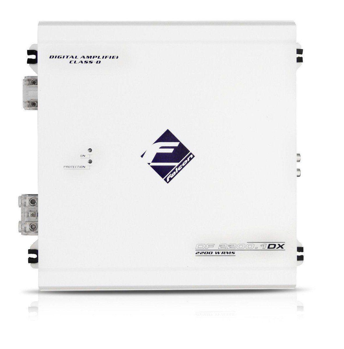Modulo Amplificador Falcon 2200.1 Dx 1 Canal 2200 Wats Rms