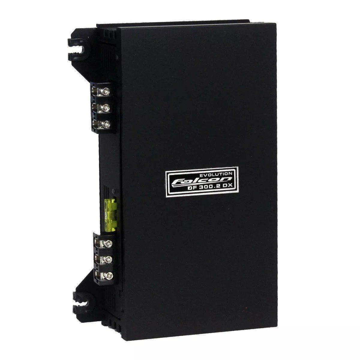 Modulo Amplificador Falcon 300.2 Mono e Estereo 2 Canais 300 Wats