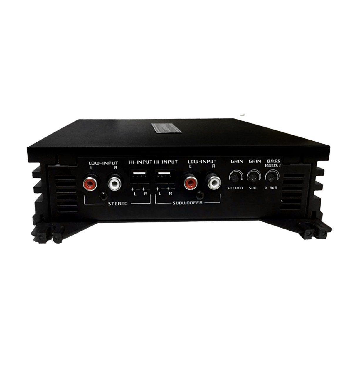 Modulo Amplificador Falcon Hs 1100 Dx 5 Canais Mono e Estereo