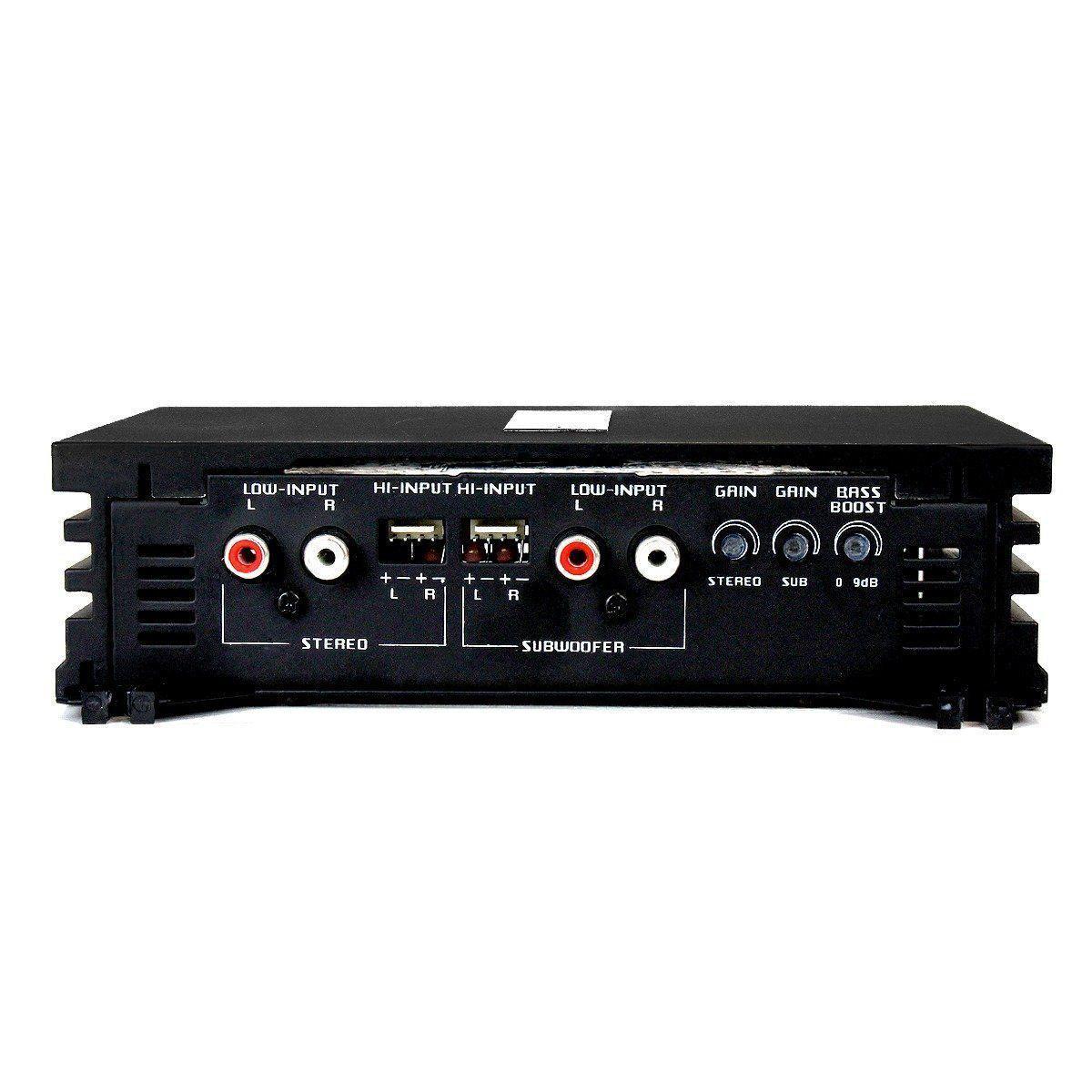 Modulo Amplificador Falcon Hs 960 Dx 4 Canais 460 Wats Rms Mono e Stereo