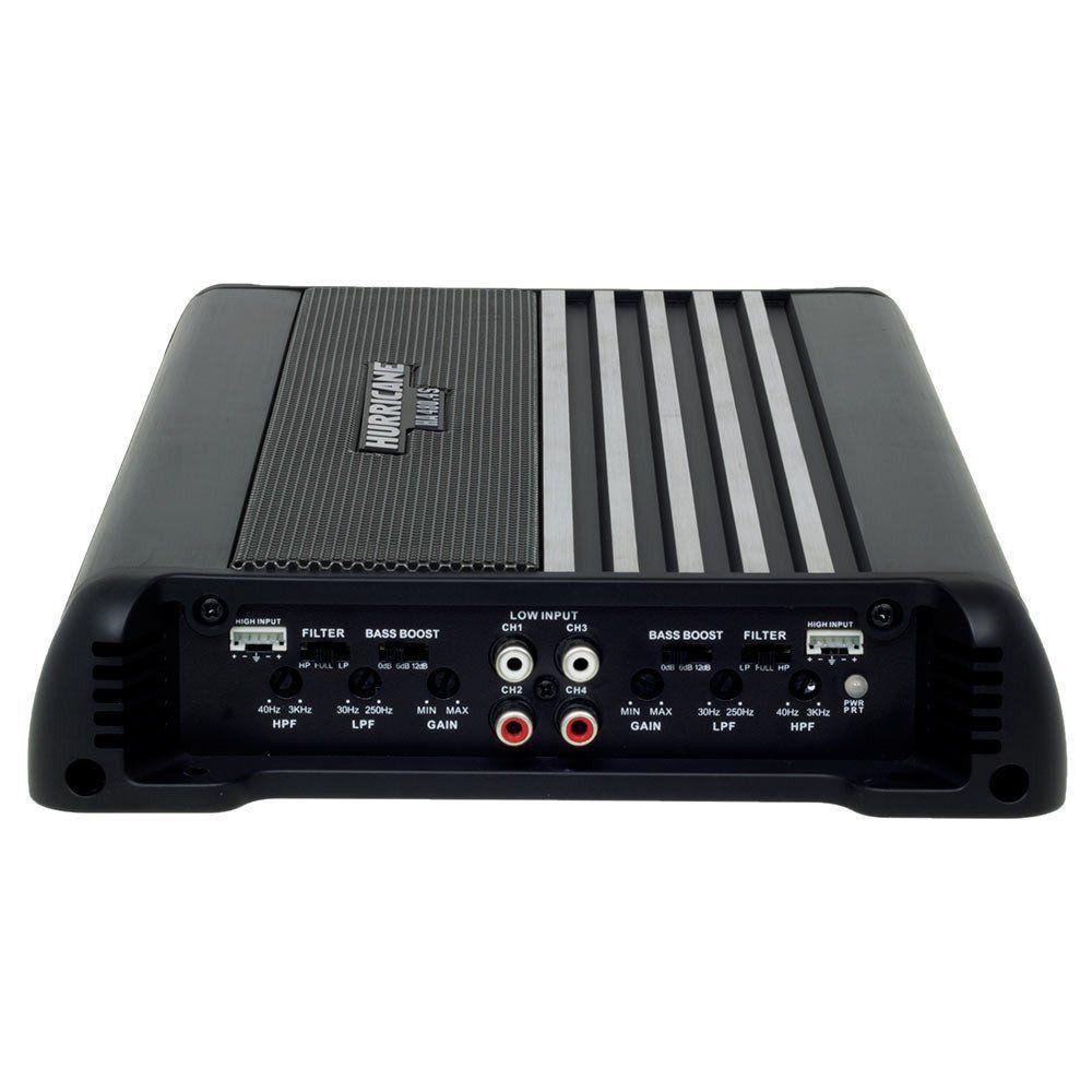 Modulo Amplificador Hurricane 480.4S Mono e Stereo 4 Canais