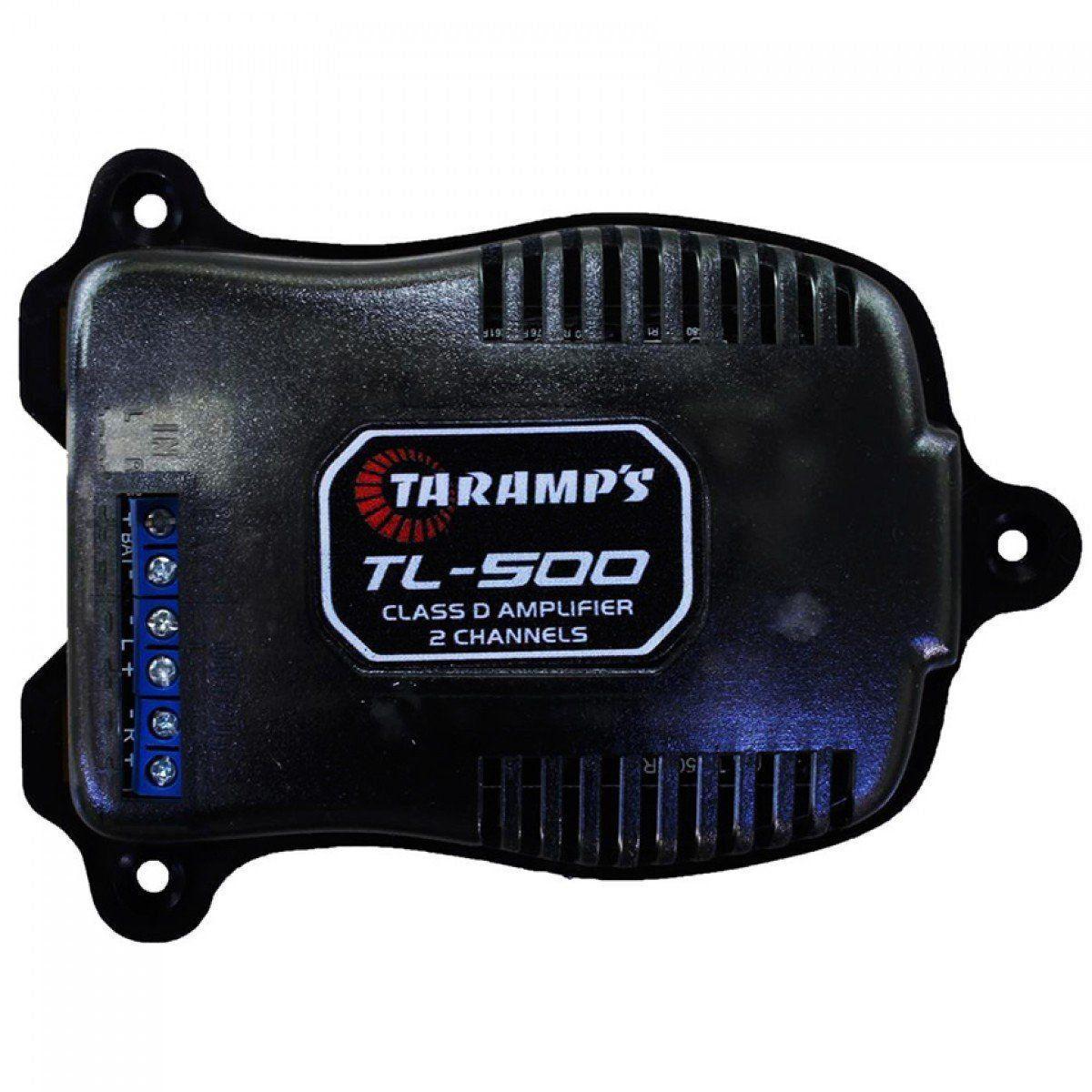 Modulo Amplificador Potencia Taramps Tl 500 Stereo 2 Canais