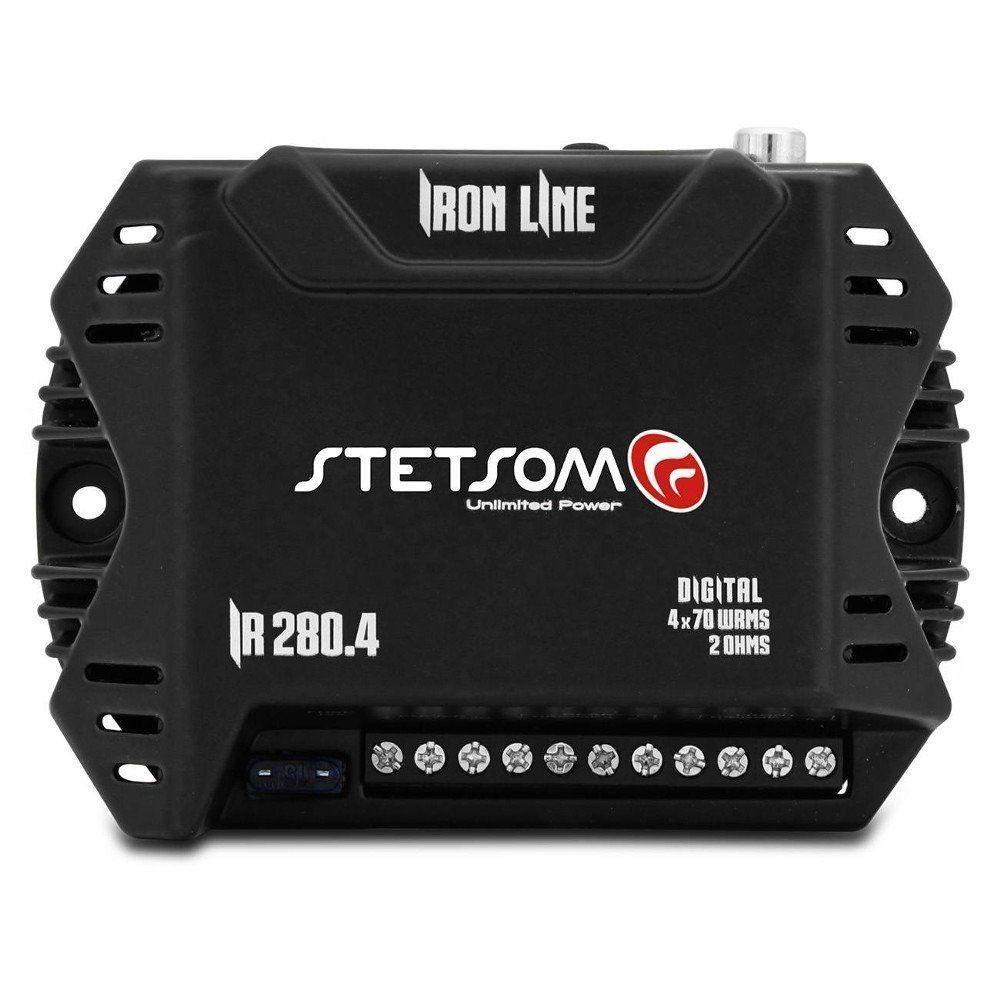 Módulo Amplificador Stetsom 280w Rms Iron Line Ir280.1