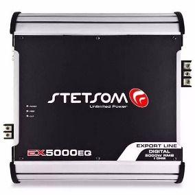 Módulo Amplificador Stetsom Export Line Ex 5000 Eq 1 Ohm