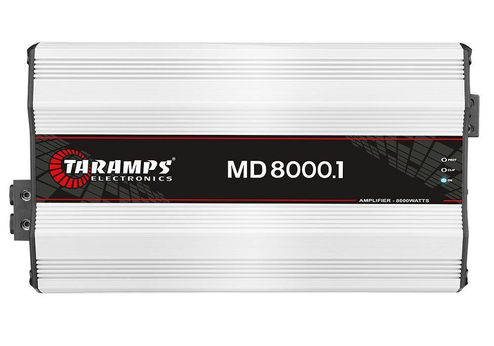 Módulo Taramps 8000 Rms Md 8000.1 1 Ohms Substitui Hd 8000