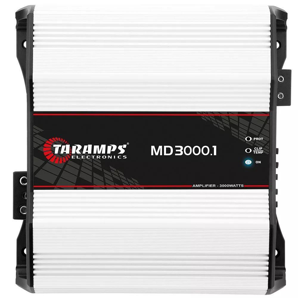 Modulo Taramps Md 3000.1 2 Ohm 3000w Amplificador Automotivo