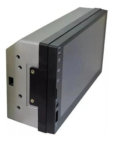 Multimidia H-tech Dvd 2 Din Mp5 Usb Sd Aux Bt Espelhamento  HT-3000