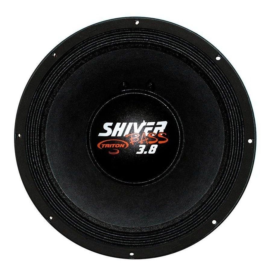 Woofer 15 polegadas Triton Shiver Bass 3.8 1900 Branco