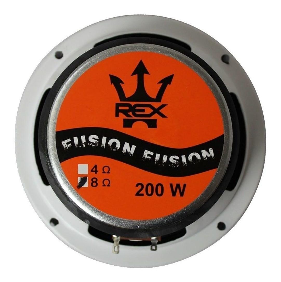 Par Alto Falantes Woofer Rex Fusion 200w Rms Cada 6 Pol 4 ohms