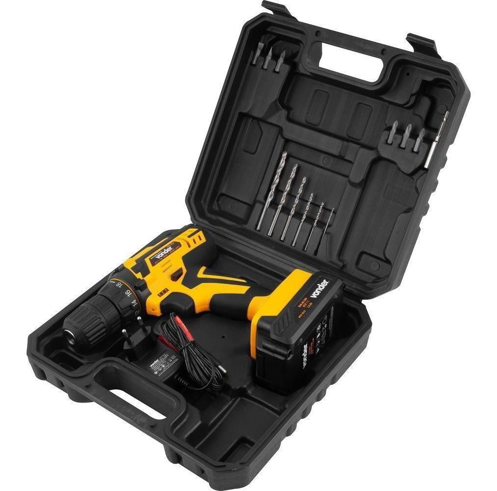 Parafusadeira Bateria 12 V Vonder PFV012 Bivolt
