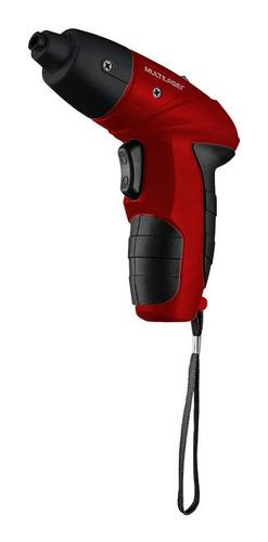 Parafusadeira Sem Fio Bivolt Vermelho Multilaser Ho031