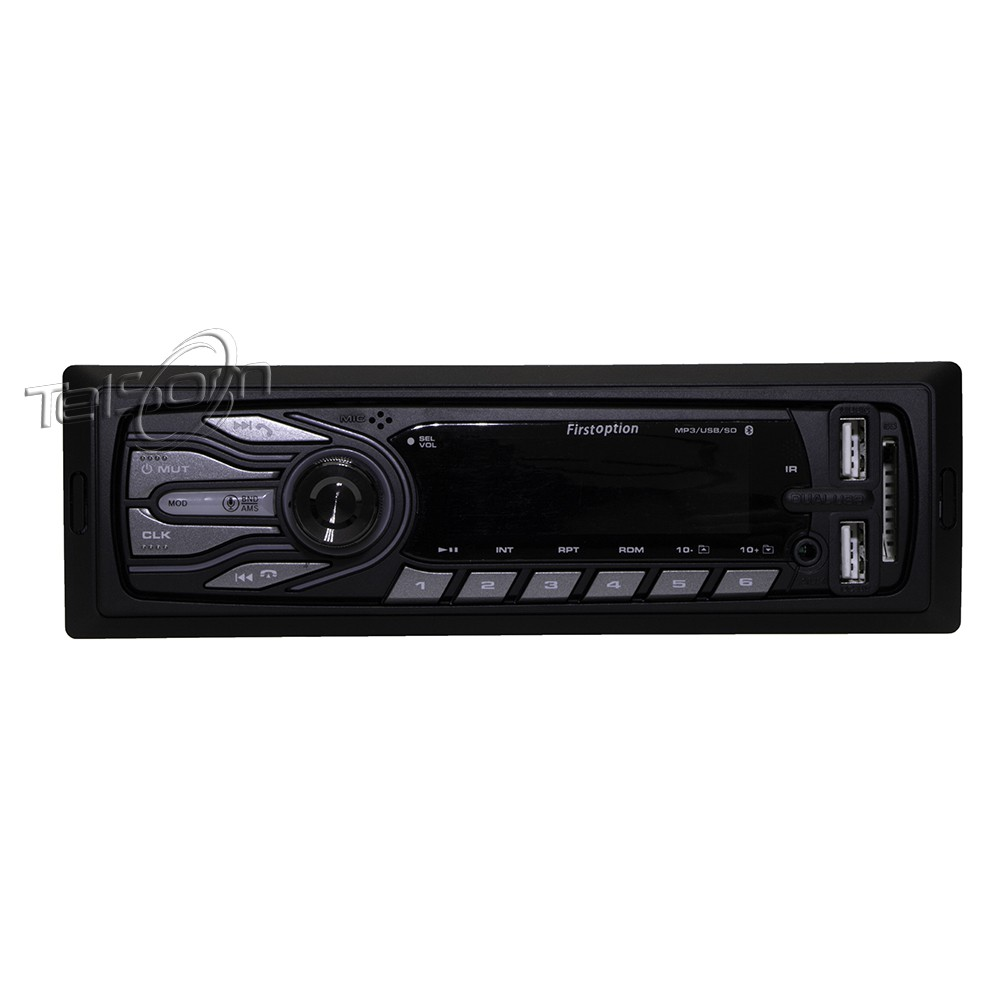 Som Automotivo First Option 5566 Com Usb, Bluetooth E Leitor De Cartão Sd