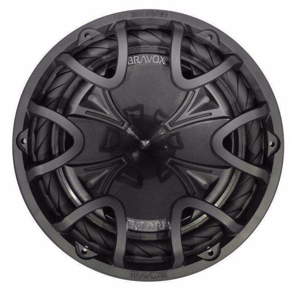 Subwoofer 12 Bravox Black D4 350 Wats Rms