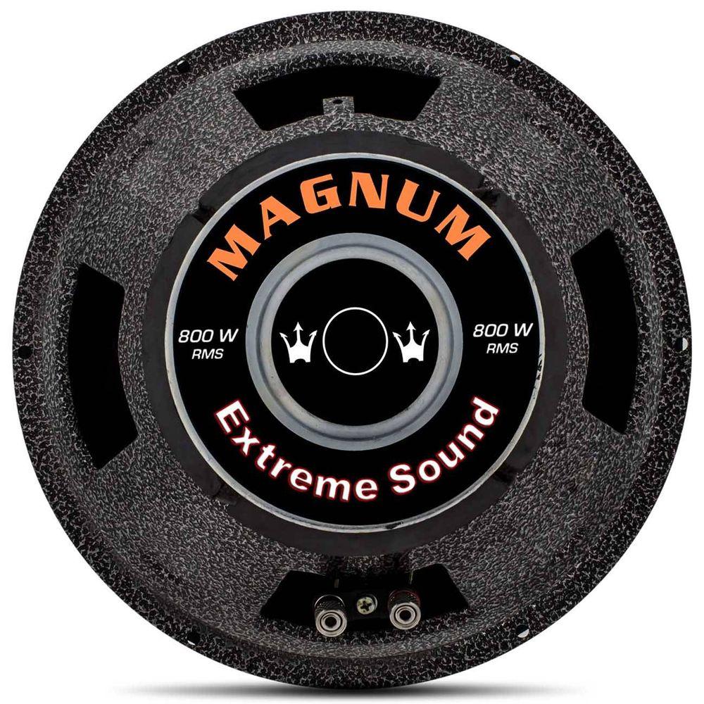 Subwoofer Magnum Rex 12 Polegadas 800w Rms Bobina Simples
