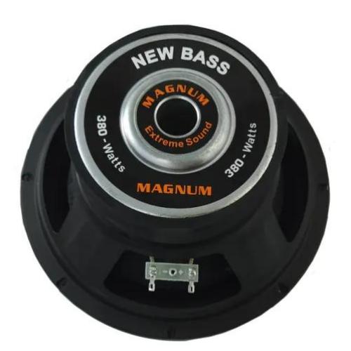 Subwoofer New Bass 10'' 380W D4 Magnum