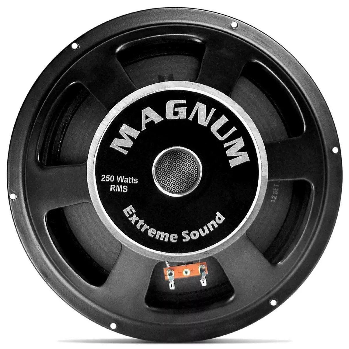 Woofer Magnum 10 250 4 Ohms Tecido