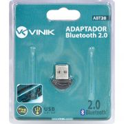 ADAPTADOR BLUETOOTH MINI 2.0 ABT20 26314 - VINIK