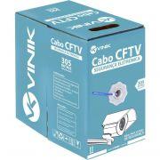 CABO DE REDE CAT5 CAIXA COM 305M AZUL 26873 - VINIK
