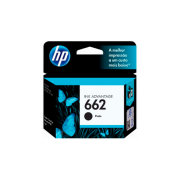 CARTUCHO HP 662 CZ103AB BK 2ML ORIGINAL