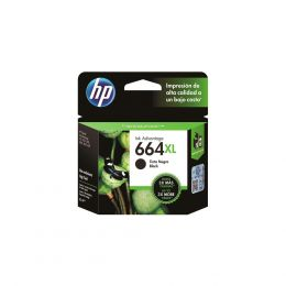 CARTUCHO HP 664XL F6V31AB PRETO 8.5ML ORIGINAL