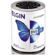 DVD-R C/100 PRINTABLE 4.7GB/8X/16X - ELGIN