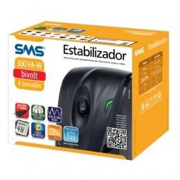 ESTABILIZADOR 300VA REVOLUTION SPEEDY E-BIV/120V 15970 - SMS
