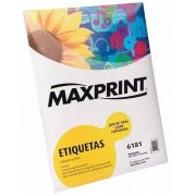 ETIQUETA 6181 100G 25.4X101.6 100FLS MAXPRINT - 49.217.1
