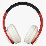 FONE HEADPHONE BLUETOOH BRANCO/VERM/PRETO EO-602 - EVOLUT