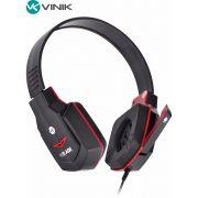 FONE HEADSET GAMER V BLADE VX PRETO/VERMELHO 23650 - VINIK