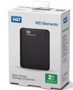 HD EXTERNO 2TB USB 3.0 ELEMENTS PRETO - WESTERN DIGITAL