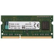 MEMORIA P/ NOTEBOOK 4GB DDR3 1600 KVR16S11/4 - KINGSTON