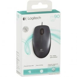 MOUSE OPTICO USB M90 PRETO - LOGITECH