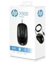MOUSE OPTICO USB X900 PRETO - HP