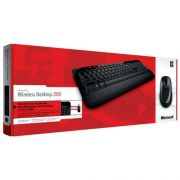 TECLADO + MOUSE WIRELESS 2000 M7J-00021 PRETO - MICROSOFT