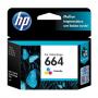 CARTUCHO HP 664 F6V28AB COLOR 2ML ORIGINAL