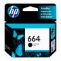 CARTUCHO HP 664 F6V29AB BK 2ML ORIGINAL