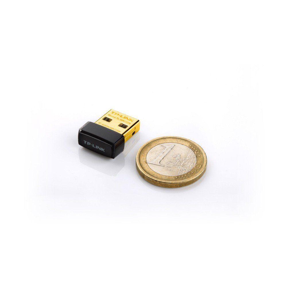 ADAPTADOR USB NANO WI-FI TL-WN725N 150MBPS - TP-LINK  - GAÚCHA DISTRIBUIDORA DE INFORMÁTICA