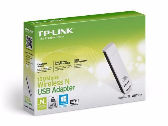 ADAPTADOR USB WI-FI TL-WN721N 150MBPS - TP-LINK