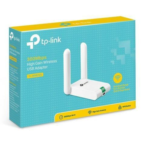 ADAPTADOR USB WI-FI TL-WN822N 300MBPS - TP-LINK  - GAÚCHA DISTRIBUIDORA DE INFORMÁTICA