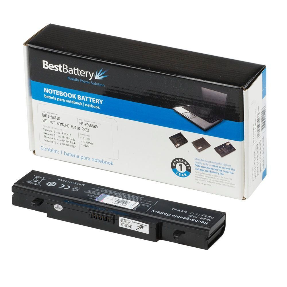 BATERIA NOTEBOOK SAMSUNG BB11-SS015 - BEST BATTERY