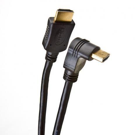 CABO HDMI 2M 2.0 4K 19 PINOS C/ PLUG 90 GRAUS 018-3322-PIX