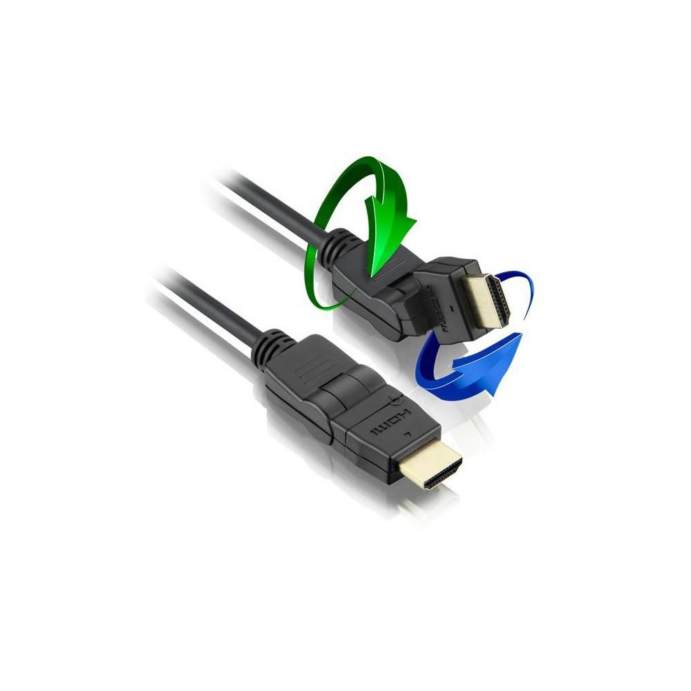 CABO HDMI 2M 360 GRAUS ARTICULADO C/ FILTRO - CHIP SCE