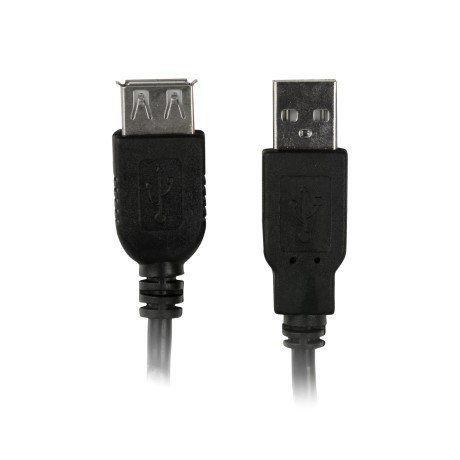 CABO USB 2.0 EXTENSOR AM X AF 1.8M PC-USB1802 - PLUS CABLE