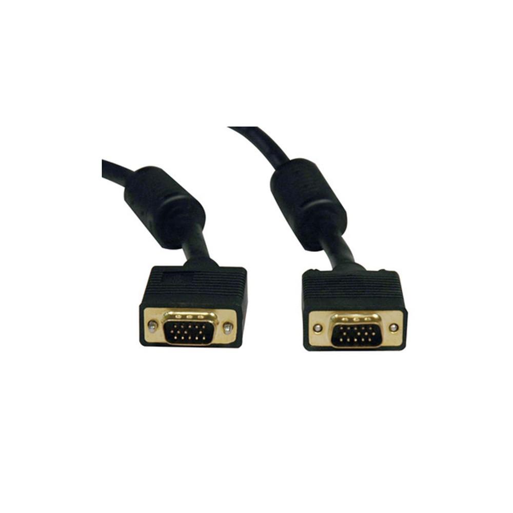 CABO VGA + VGA 15MT PRETO C/ FILTRO 018-7715 - 5+