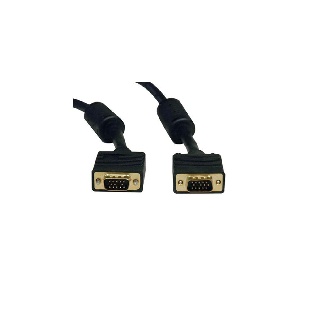 CABO VGA + VGA 2MT PRETO C/ FILTRO 018-9511 - 5+