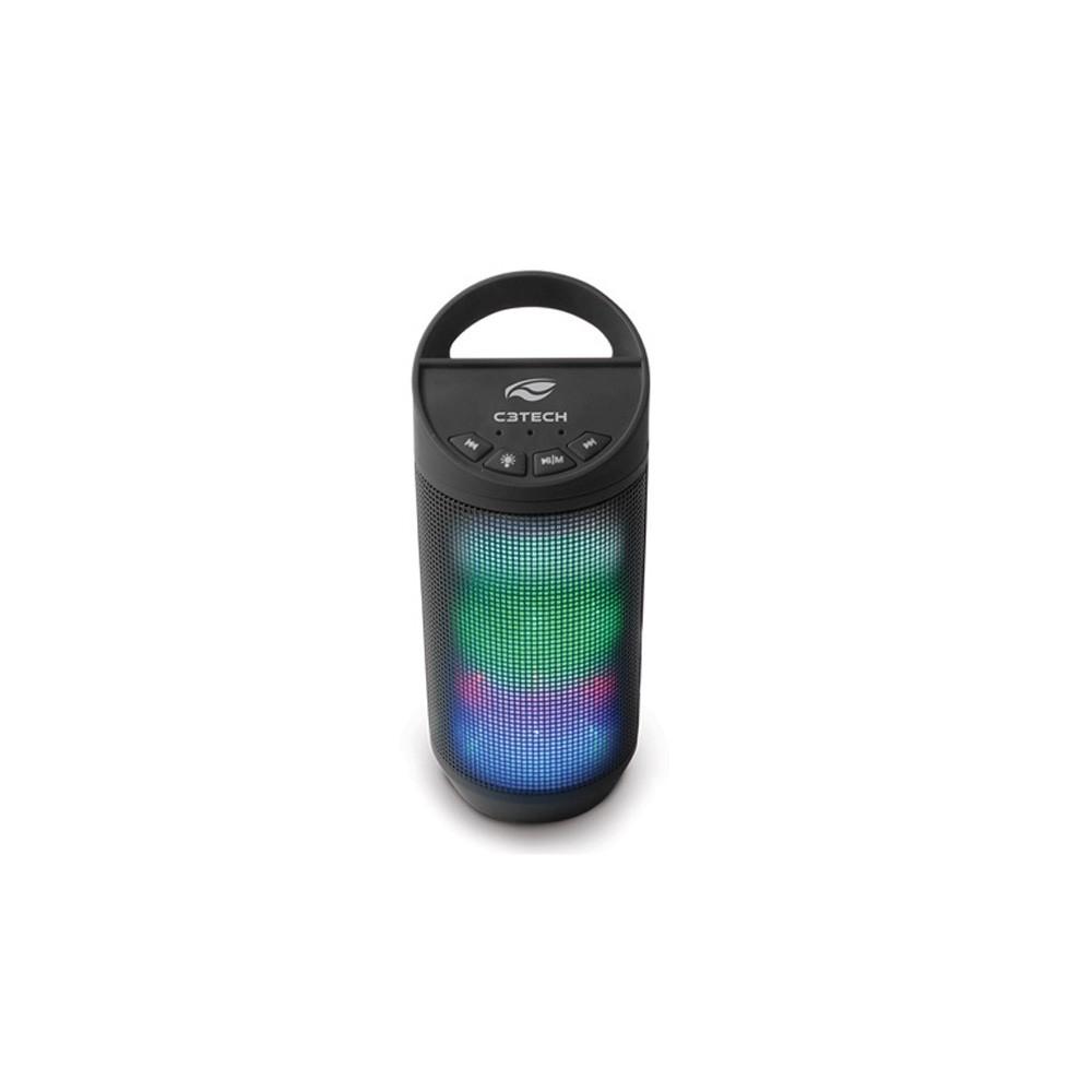 CAIXA DE SOM 8W RMS USB BEAT SP-B50BK BLUETOOTH PRETO - C3