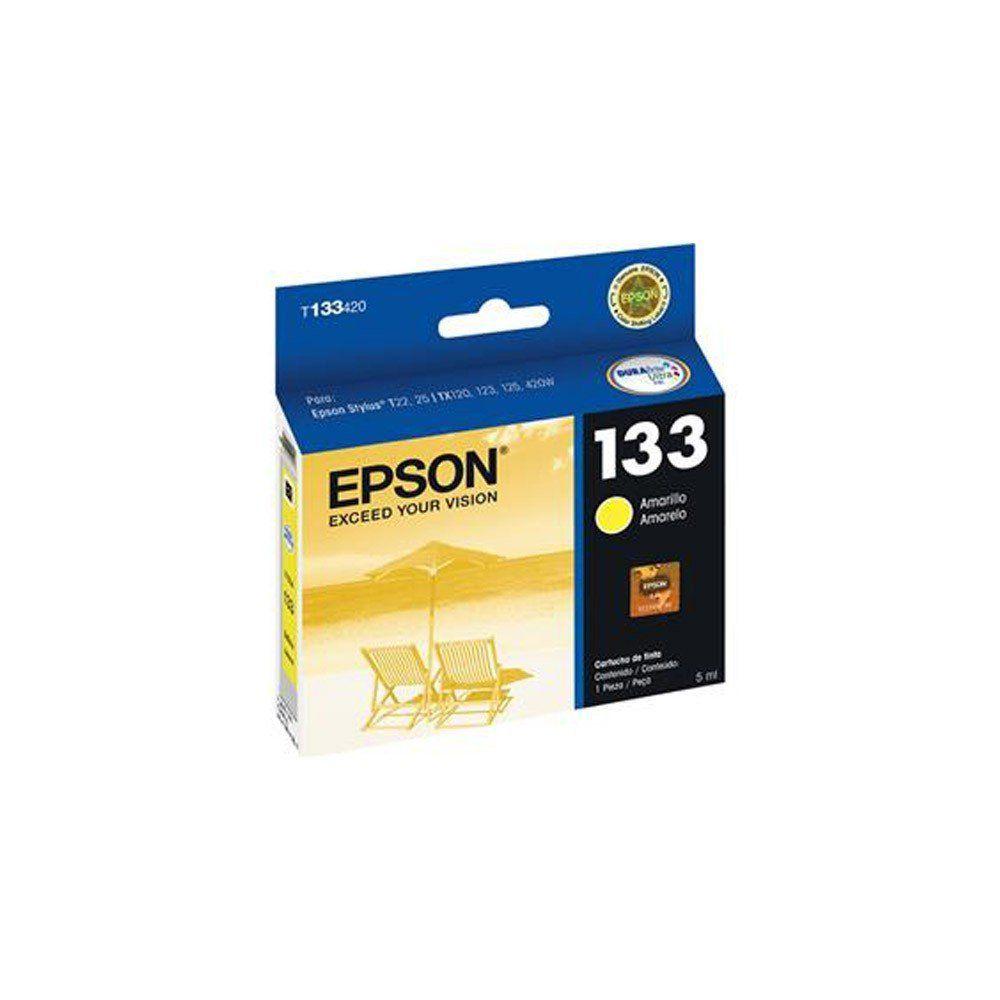 CARTUCHO EPSON T 1334 YEL 5ML ORIGINAL
